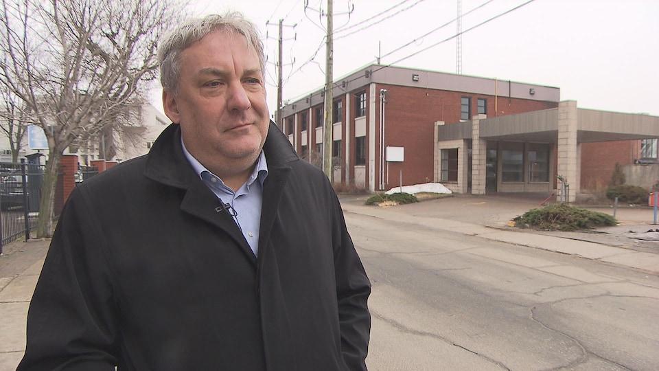 Mario De Tilly, directeur général Innovation et développement économique Trois-Rivières
