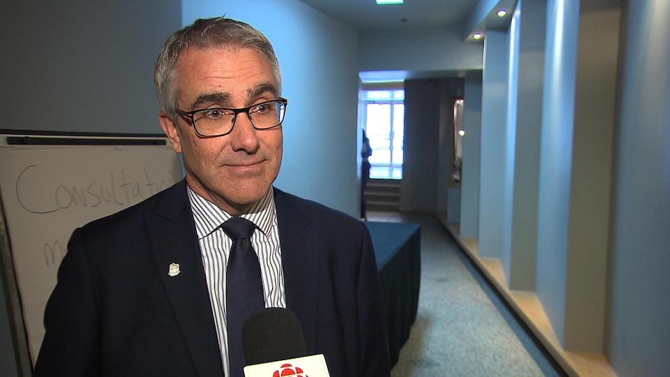 Mario Leblanc, directeur général de Tourisme Côte-Nord.