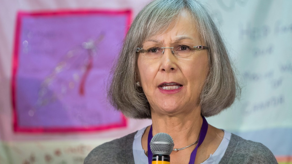 La commissaire en chef de l'ENFFADA, Marion Buller