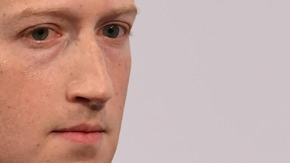 Mark Zuckerberg à la conférence sur la sécurité à Berlin, en Allemagne, en février 2020.