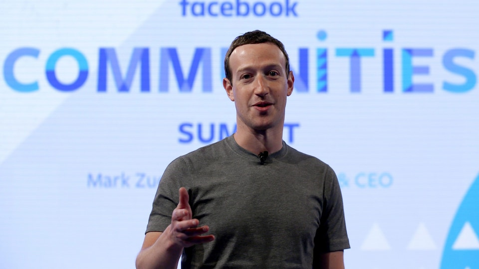 Le grand patron de Facebook, Mark Zuckerberg
