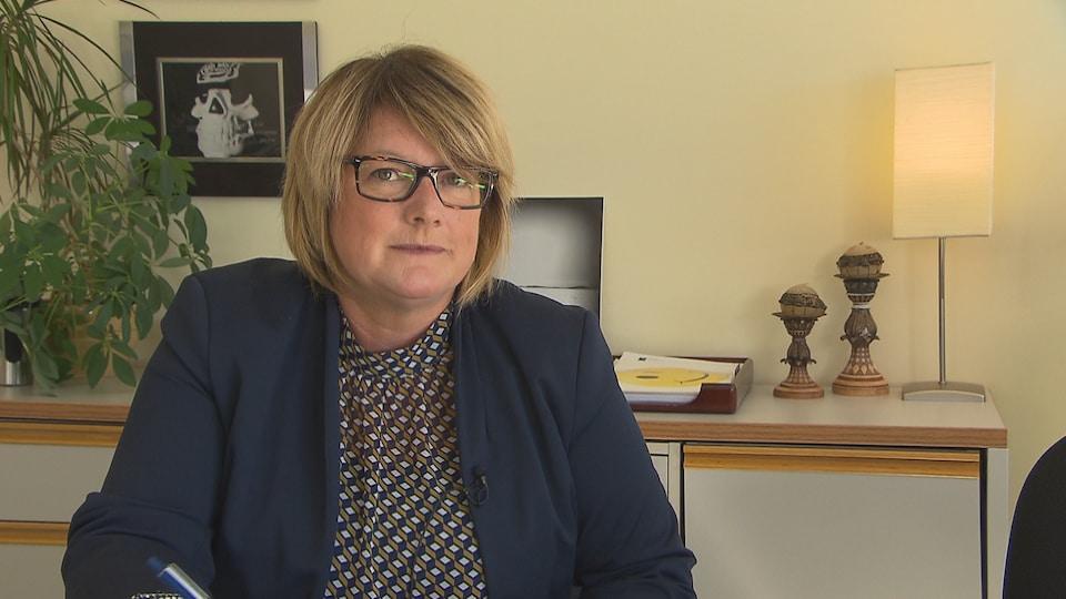 Marlene Gallagher, directrice de la Protection de la jeunesse et directrice provinciale pour la région de la Côte-Nord