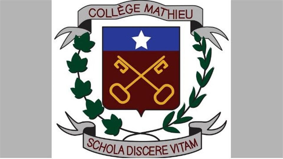Le logo du Collège Mathieu