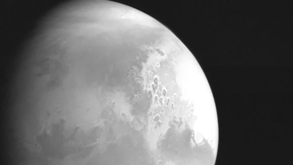 Image de la planète Mars.