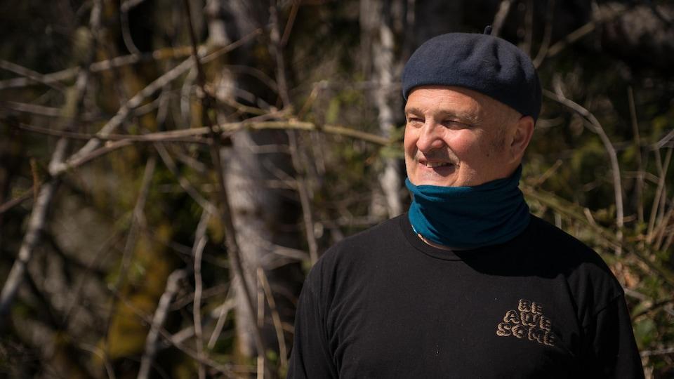 Portrait de Martin Comtois.