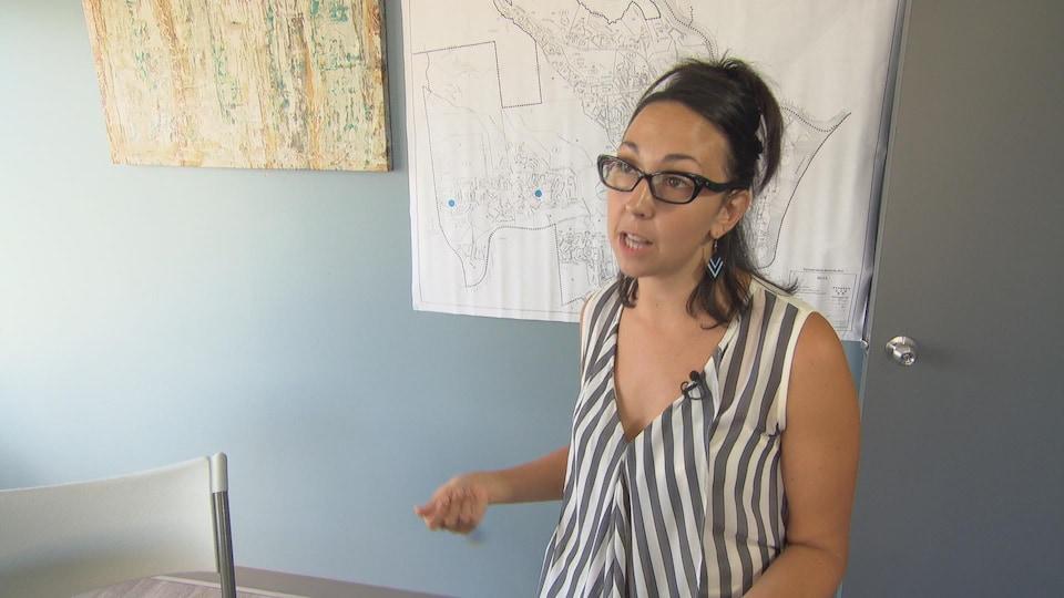 Marysa Nadeau est la candidate du PQ dans la circonscription de Hull.