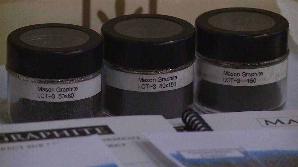L'usine de transformation de graphite sera située à Baie-Comeau.