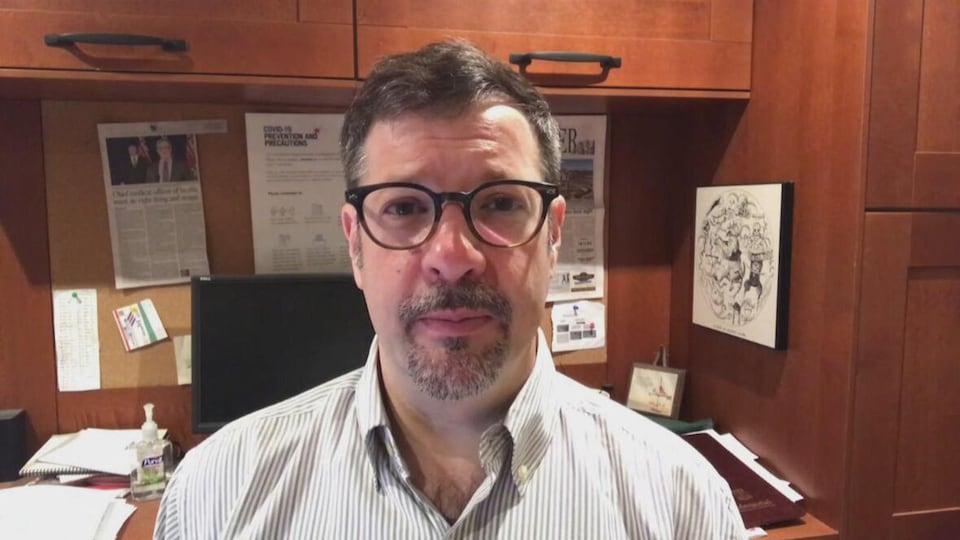 Colin Furness, épidémiologiste basé à Toronto