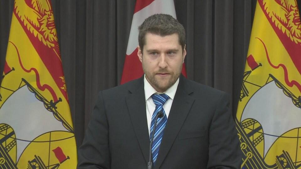 Mathieu Chalifoux, épidémiologiste au sein du bureau de la santé publique du Nouveau-Brunswick.