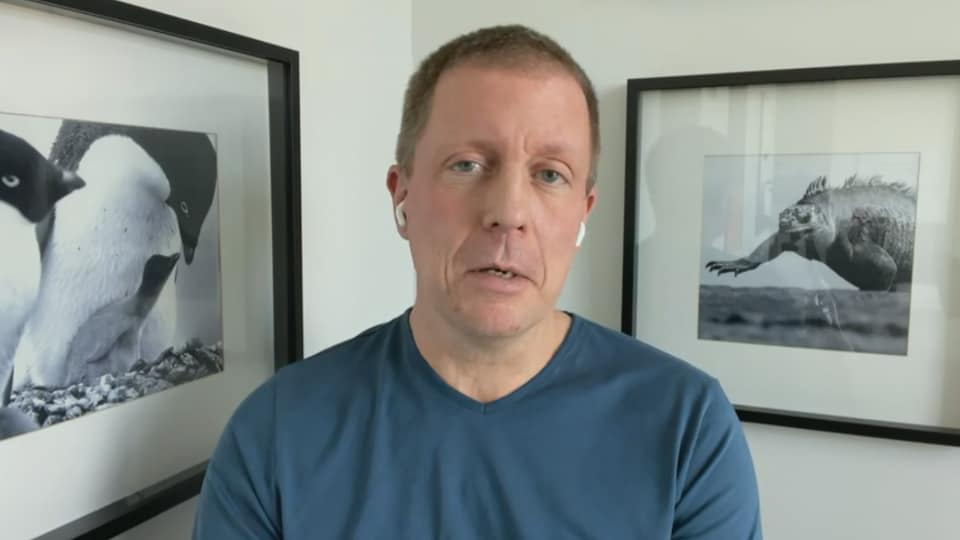 Le Dr Mathieu Simon, de l'IUCPQ.