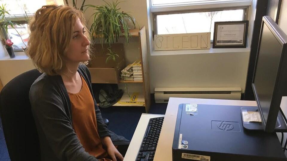 Maude Pellerin, intervenante auprès des jeunes sans-abri pour l'organisme Dans la rue