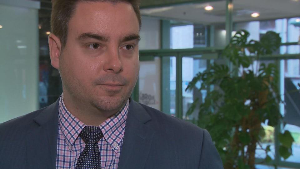 Me Maxime Lapointe, avocat spécialisé en immigration.