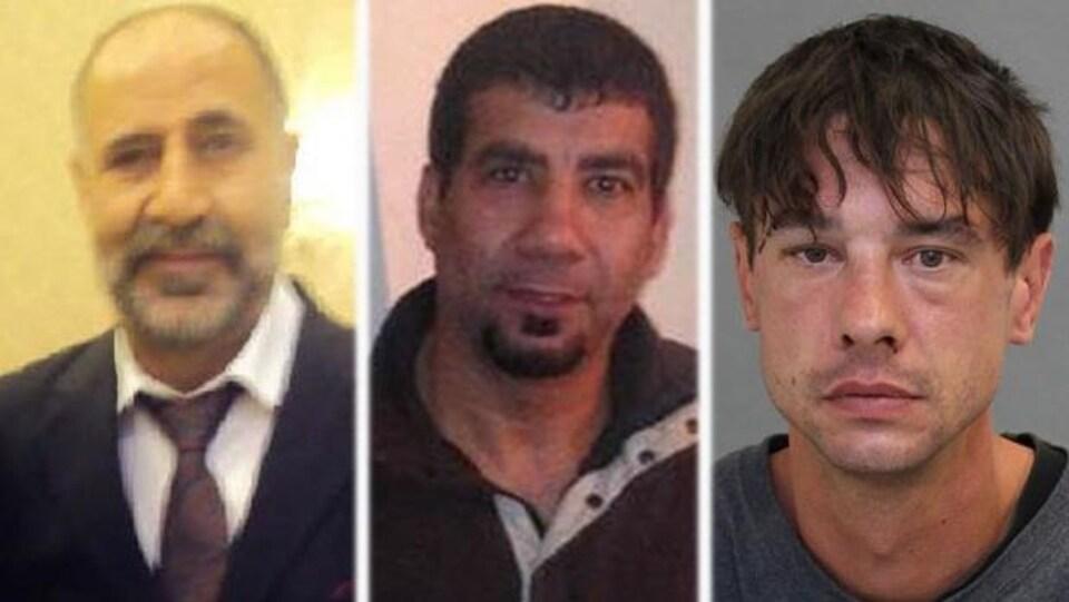 Photo en mosaïque de Majeed Kayhan, Soroush Mahmudi et Dean Lisowick