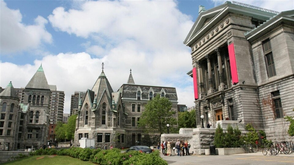 Campus de l'Université McGill en été