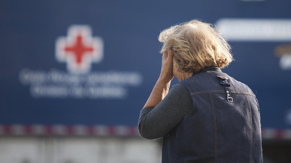 Une résidente de Lac-Mégantic le lendemain de la tragédie ferroviaire qui a fait 47 morts.