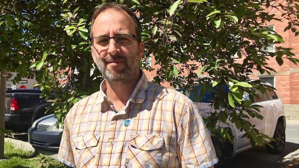 Michaël Bouchard, président de la FIQ-SISSAT