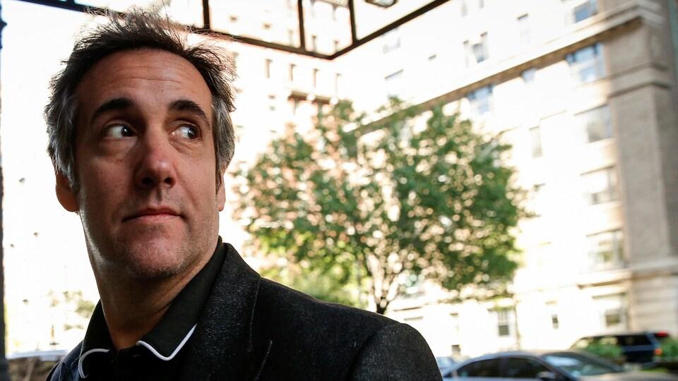Michael Cohen dans la rue