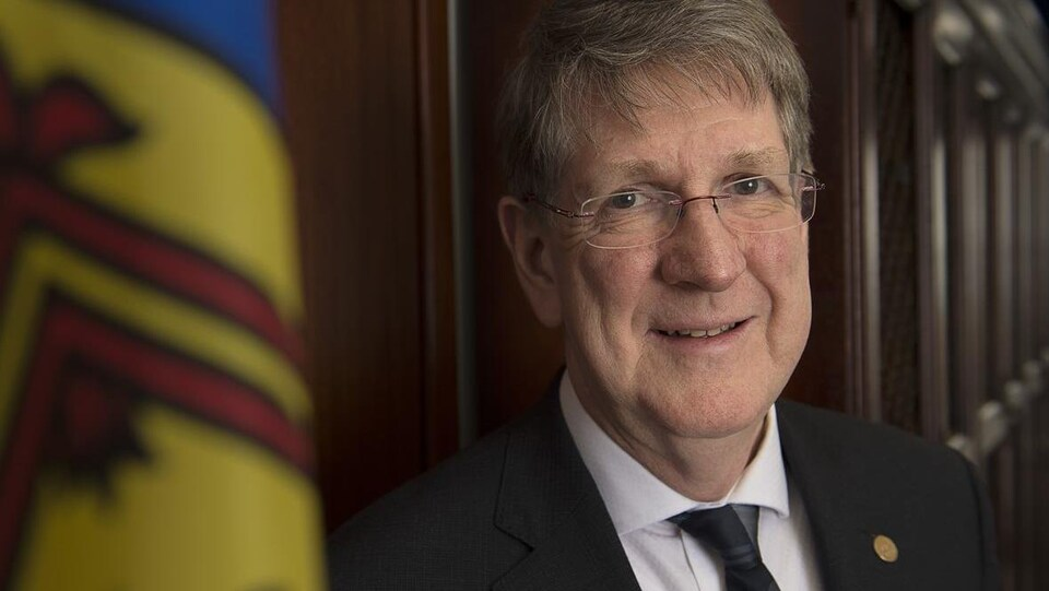Photo de l'ancien juge en chef Michael MacDonald.