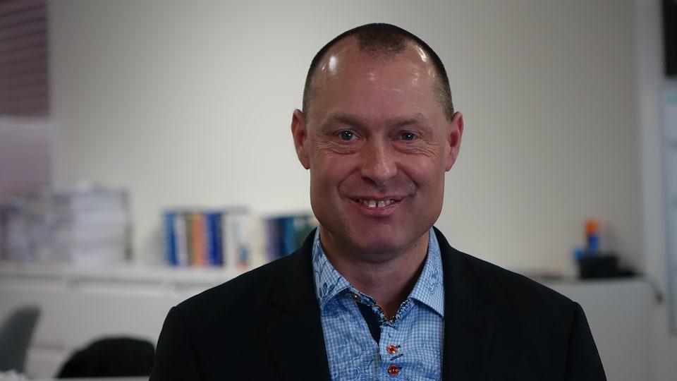 Michel Asselin, président de l'Association des propriétaires riverains