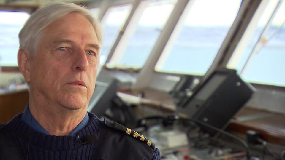 Michel Duplain, capitaine du Camilla Desgagnés