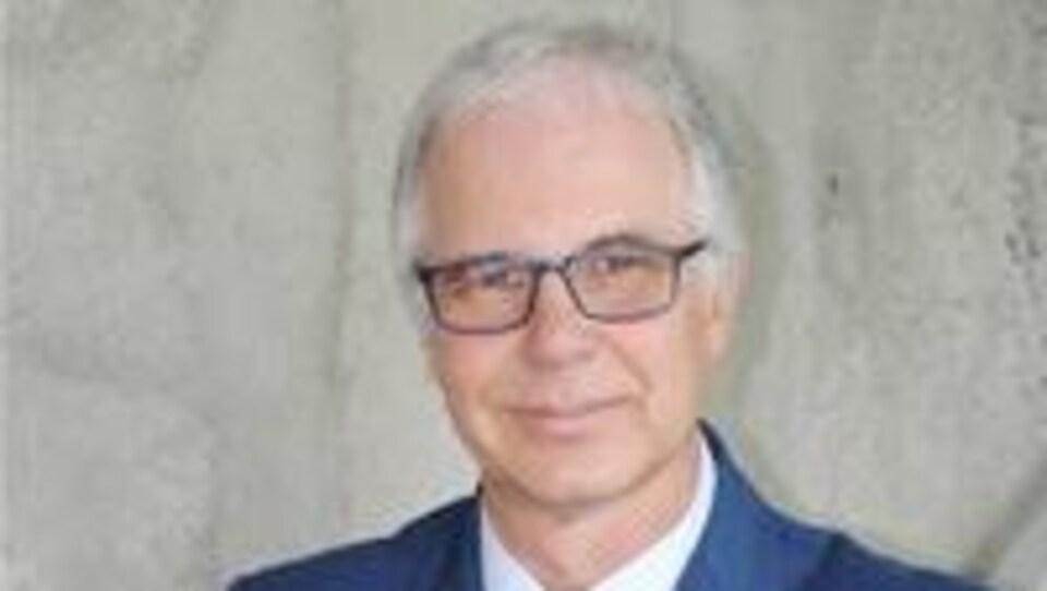 Michel Parent est le directeur du projet du nouvel hôpital de l'Outaouais.