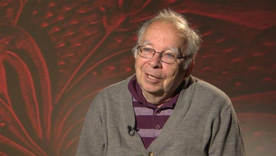 Michel Vézina, président de l'Association des radios communautaires francophones de l'Ouest et des Territoires.