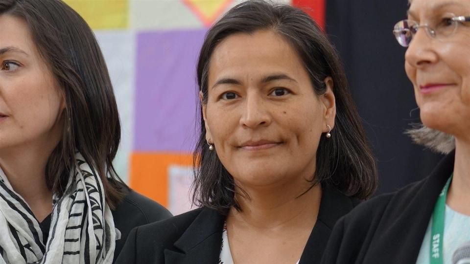 Michèle Audette, commissaire à l'Enquête nationale sur les femmes et les filles autochtones disparues et assassinées
