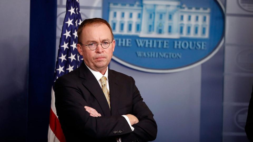 Le chef de cabinet par intérim de la Maison-Blanche, Mick Mulvaney.
