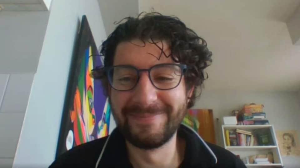 Mickaël Laviole en entrevue avec Radio-Canada