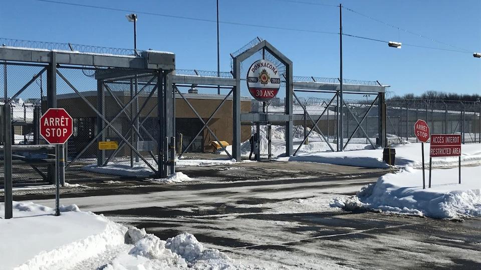 La prison fédérale de Donnacona.