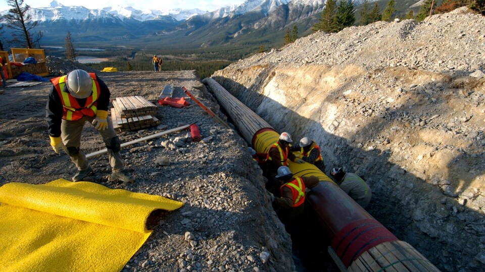 L'oléoduc Trans Mountain de Kinder Morgan