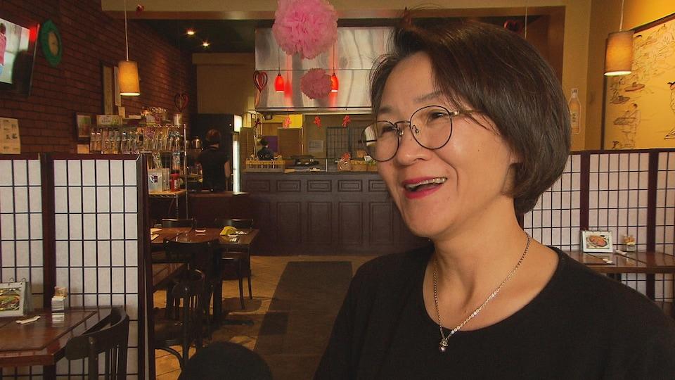 Migyeong Kim, propriétaire du restaurant Parfum de Corée