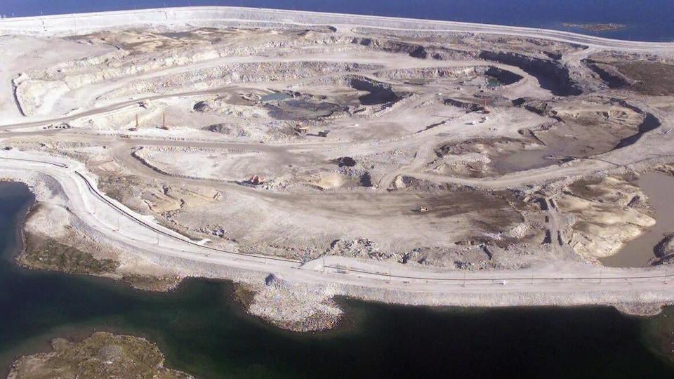 Une mine de diamant dans les T.N.-O.