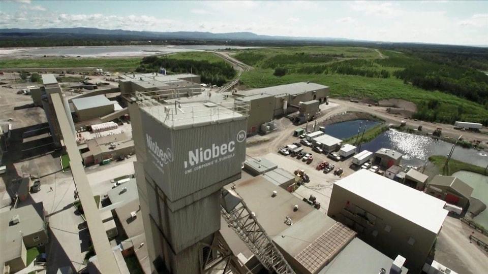 Mine Niobec à Saint-Honoré