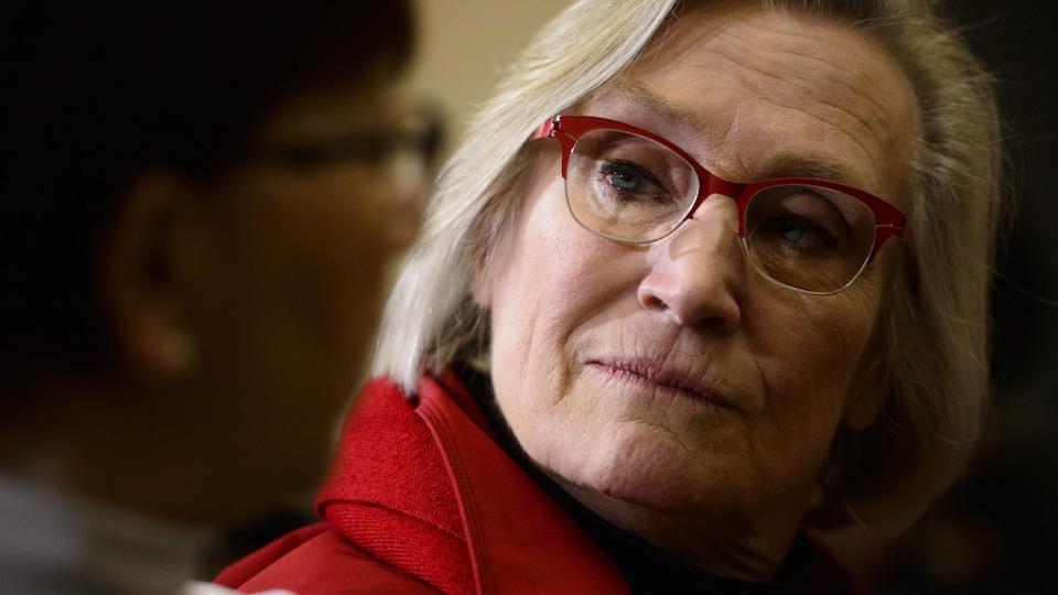 La ministre des Relations Couronne-Autochtones, Carolyn Bennett.