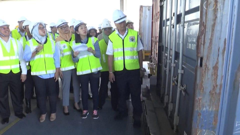 La Malaisie renvoie ses conteneurs de déchets à la France