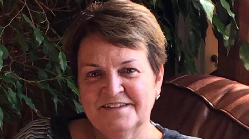 Mirila Boucher, coprésidente du conseil de gestion de la paroisse Saint-Paul de Bas-Caraquet