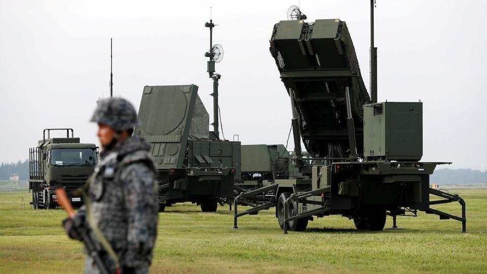 Le Japon bénéficie de l'appui américain en cas d'attaque par la Corée du nord