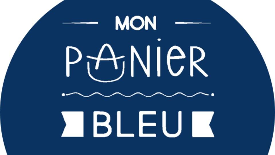 Le logo de la plateforme française Mon Panier bleu.