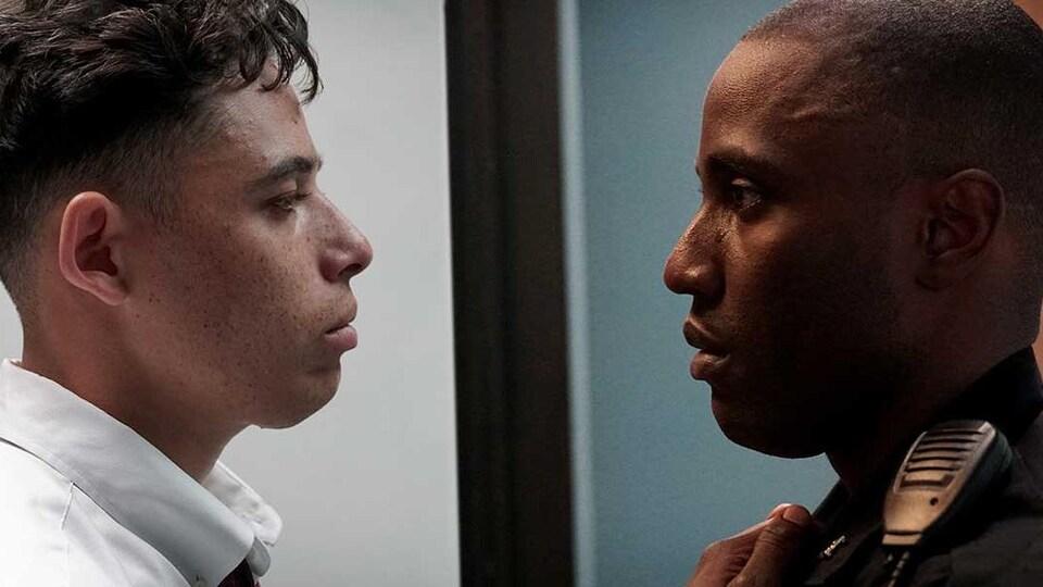 Deux acteurs du film