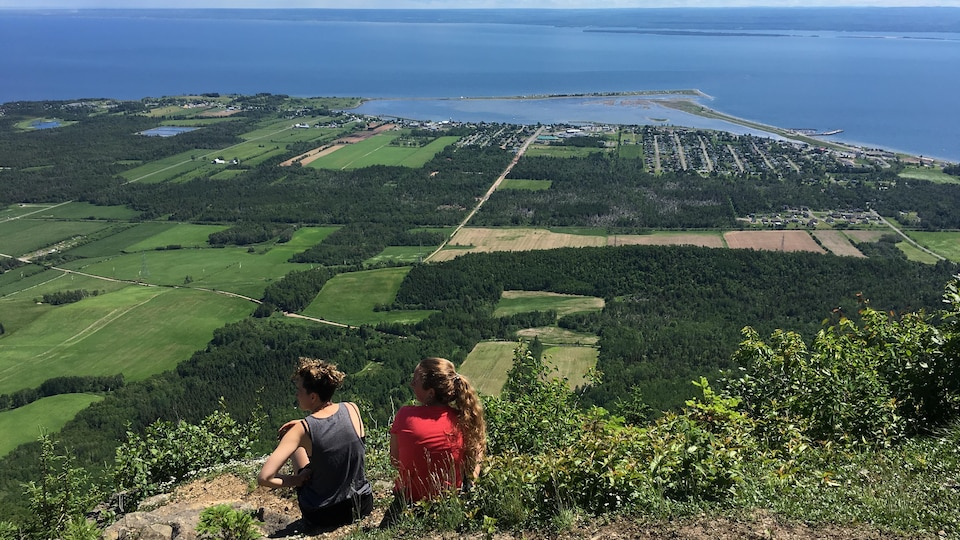 Vue du Mont Saint-Joseph à Carleton-sur-Mer