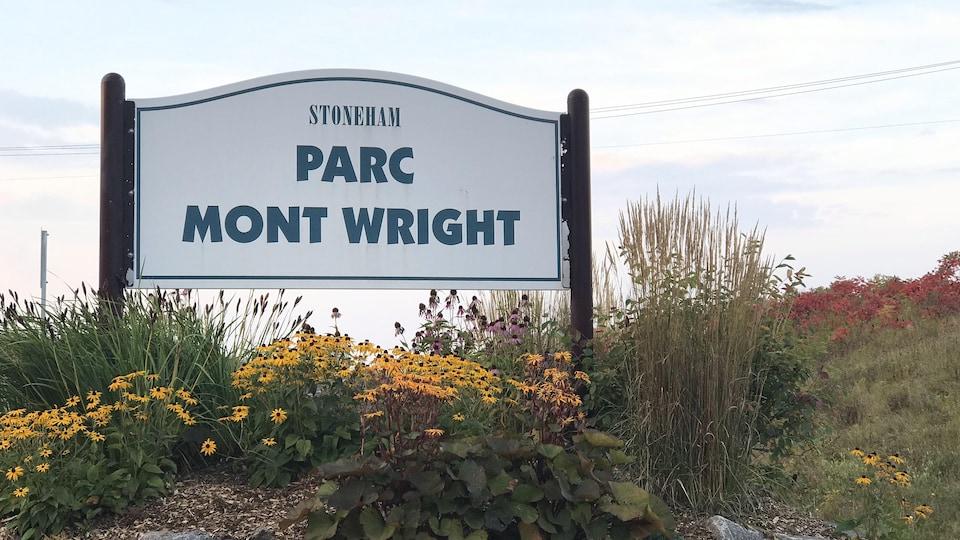 Le parc du Mont Wright compte 7.53 kilomètres de sentiers.