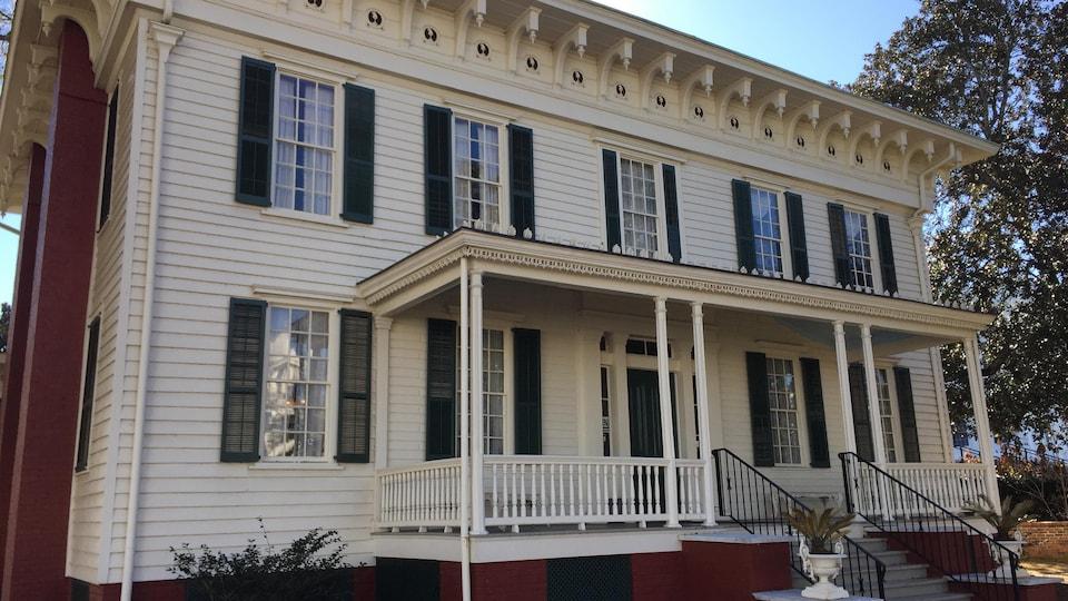 Montgomery a été pendant quelques mois la première capitale des États confédérés.