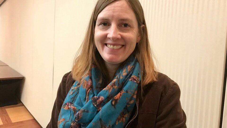 Christy Morrissey, professeure associée au département de biologie de l'Université de la Saskatchewan.
