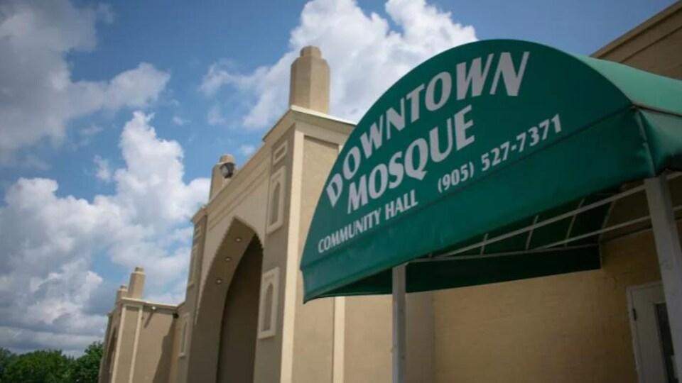 Une mosquée du centre-ville de Hamilton.