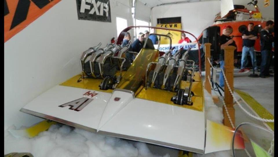 La motoneige Big Al de l'ancien manufacturier québécois Alouette.
