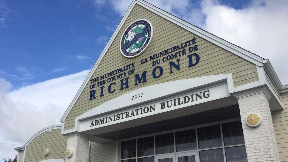 Les bureaux de l'administration municipale de Richmond, au Cap-Breton.