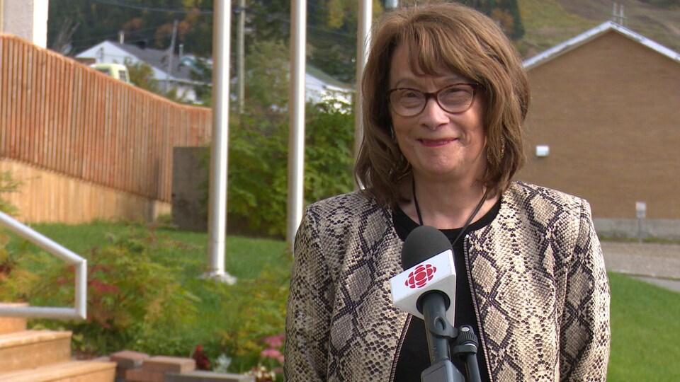 Délisca Ritchie-Roussy, mairesse sortante, tentera de briguer un cinquième et dernier mandat à la mairie de Murdochville.