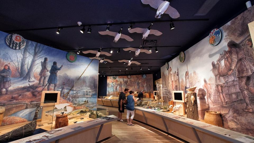 Le musée des Abénakis.