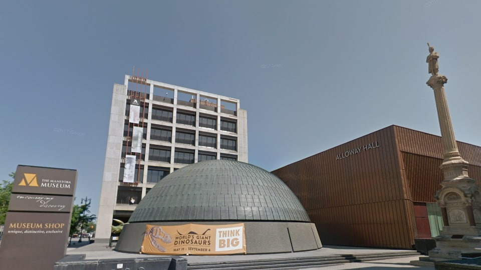 Une vue du Musée du Manitoba, à Winnipeg.